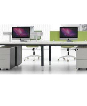 Modern Office Workstation(FOH-TLS6B)