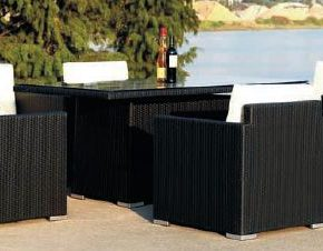 Outdoor Furniture(FOH-MJT-056-6P)