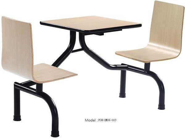 Connecting Table and Chair(FOH-XM06-003)