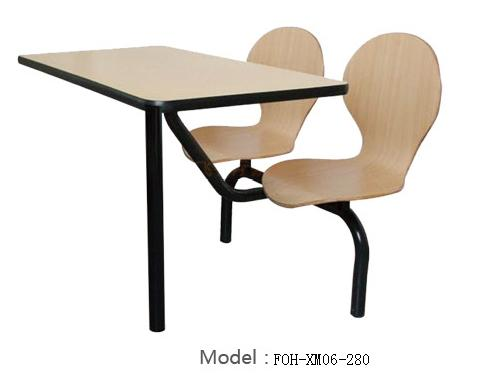 Connecting Table and Chair(FOH-XM06-280)