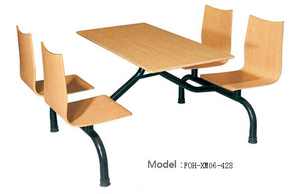 Connecting Table and Chair(FOH-XM06-428)