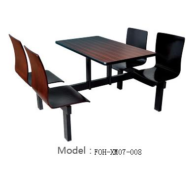 Connecting Table and Chair(FOH-XM07-008)