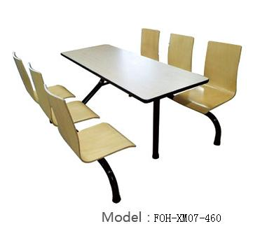 Connecting Table and Chair(FOH-XM07-460)