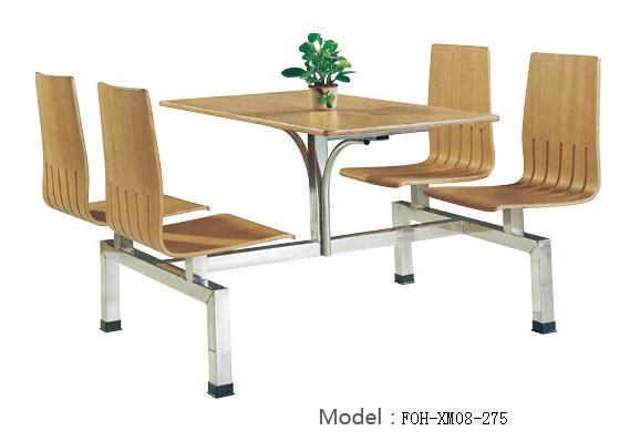 Connecting Table and Chair(FOH-XM08-275)