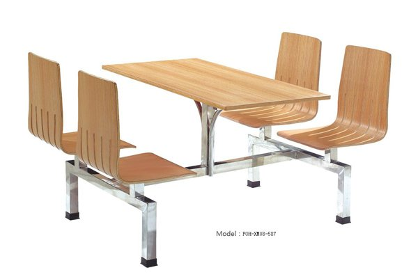 Connecting Table and Chair(FOH-XM08-587)