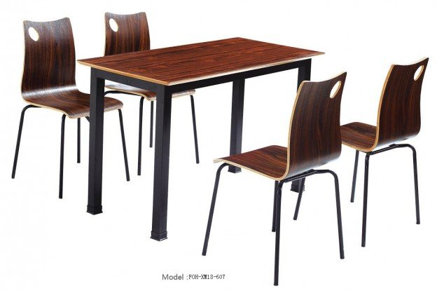 Common Table and Chair Set(FOH-XM18-607)