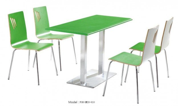 Common Table and Chair Set(FOH-XM20-610)