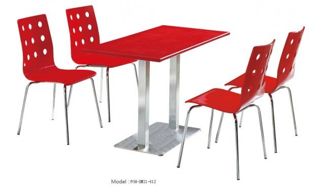 Common Table and Chair Set(FOH-XM21-612)