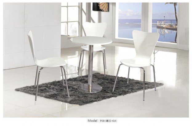 Common Table and Chair Set(FOH-XM22-616)