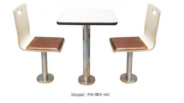 Common Table and Chair Set(FOH-XM25-440)