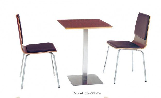 Common Table and Chair Set(FOH-XM25-620)