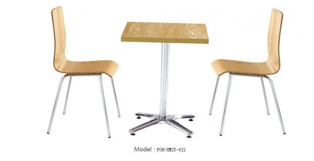 Common Table and Chair Set(FOH-XM25-621)