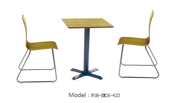 Common Table and Chair Set(FOH-XM26-623)