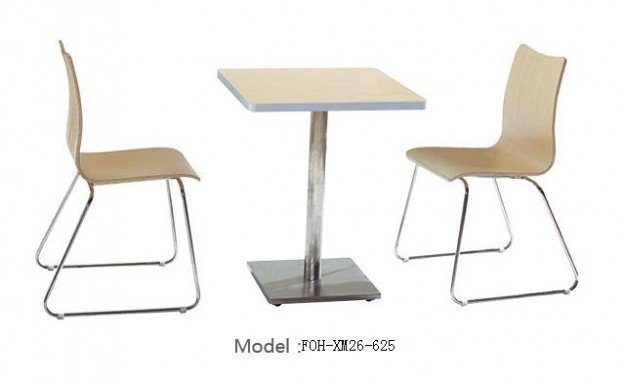 Common Table and Chair Set(FOH-XM26-625)