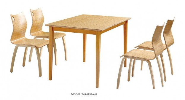 Common Table and Chair Set(FOH-XM37-648)