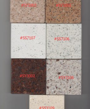 Table Top Color Chart(Quarz color1)
