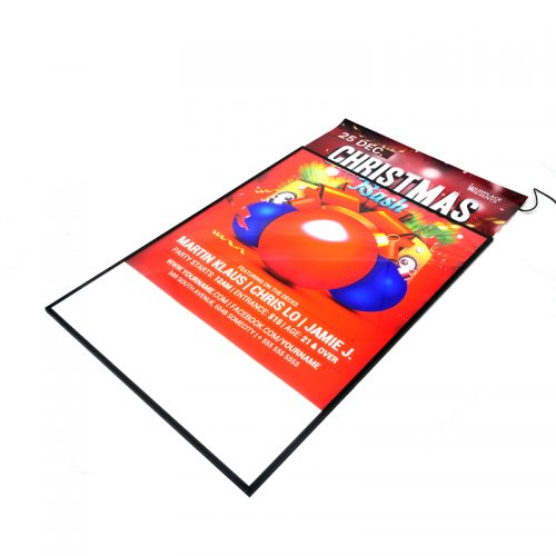 LED Advertising Light Box Sign Display Poster Size A1 with Semi-tempered Glass (3)