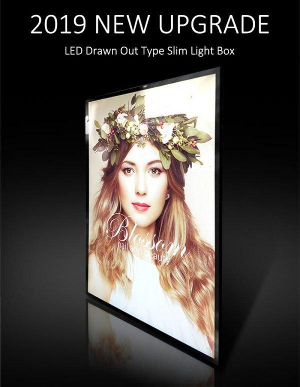 Backlit LED Light Box Backlit Advertising Sign Poster A3 (1)