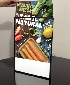Backlit LED Light Box Backlit Advertising Sign Poster A3 Menu Wall Mounted  (15)