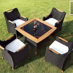Outdoor Bar Dining Sets - FOH-OT-27002