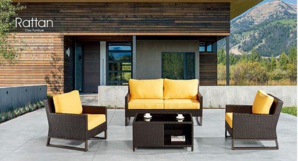 PE Rattan Outdoor Furniture - FOH-OT-CF1694