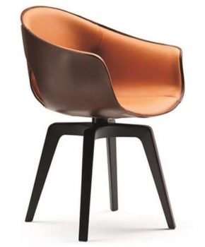 FOH-XY008- Dining Ginger Armchair