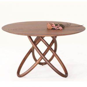floral base dining table