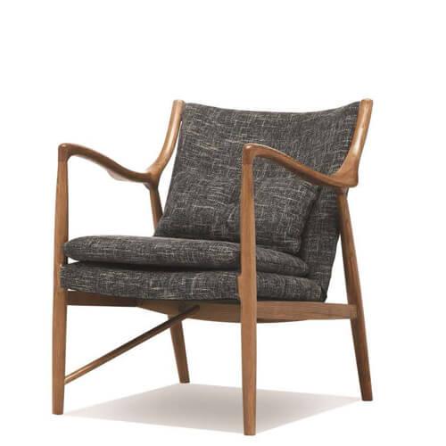 ash wood armchair