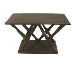 double x base dining or coffee table