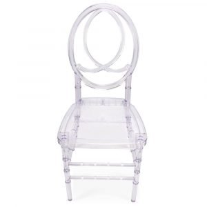 FOH-CF0001 Acrylic Clear Chair Oval Backrest