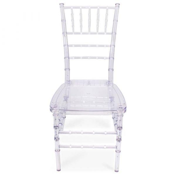 FOH-CF0003 Acrylic Clear Ladder cum Slatback Chair