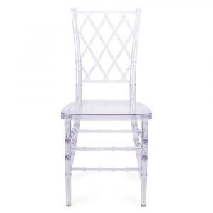 FOH-CF0005 Acrylic Clear Diamond back Chair