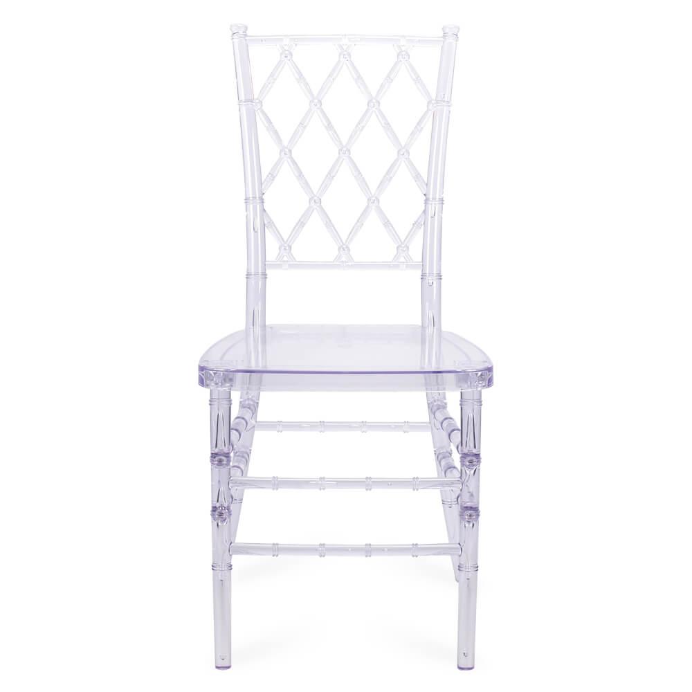 FOH-CF0005 Acrylic Clear Diamond back Chair