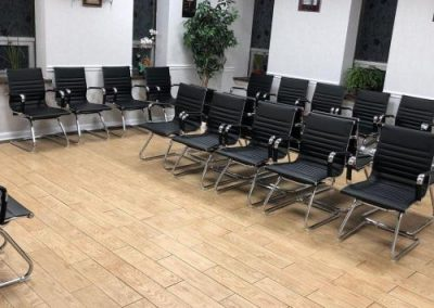 Cantilevered Visitor Waiting Chairs – New Jersey