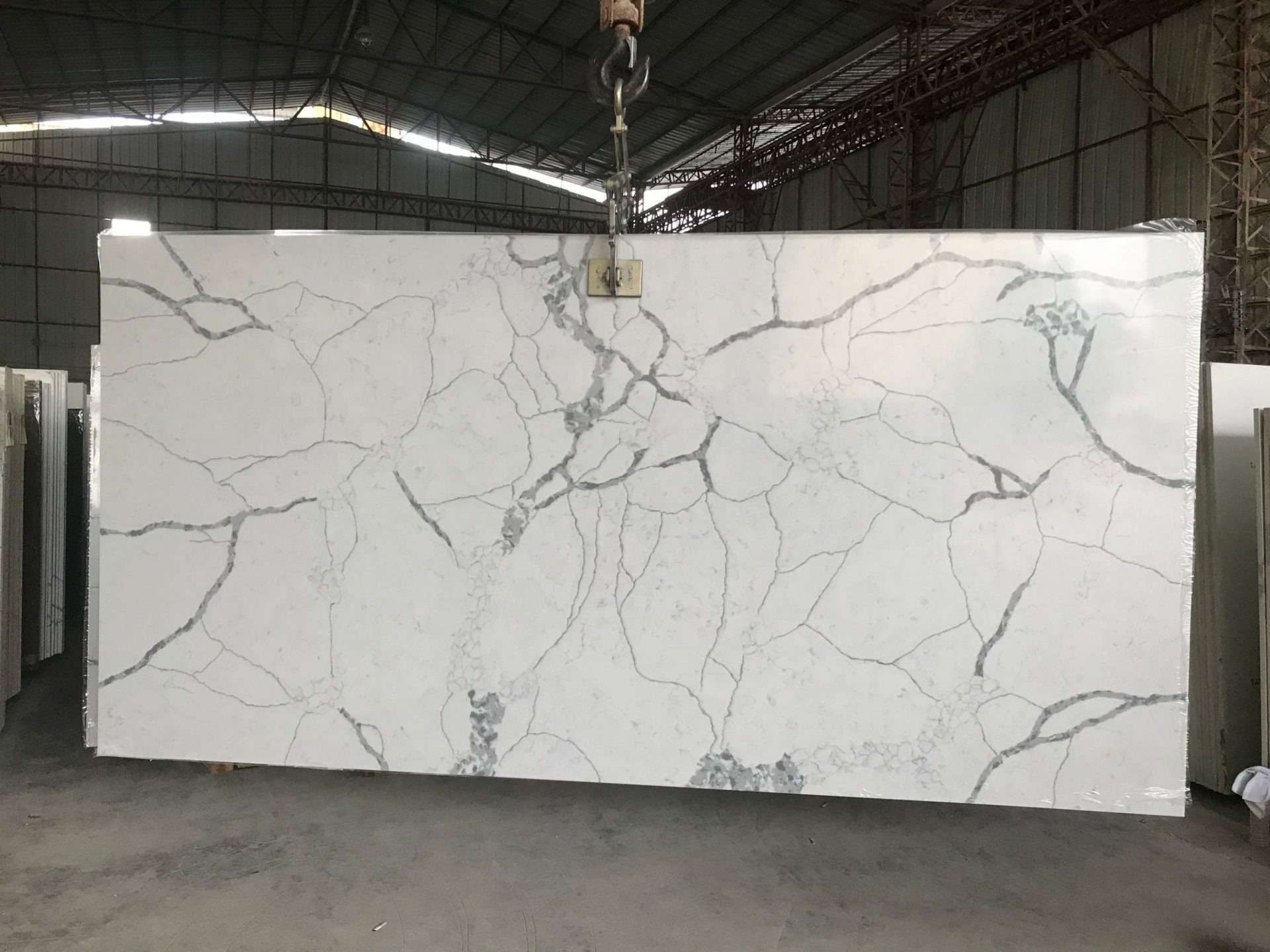 White marble Look stone