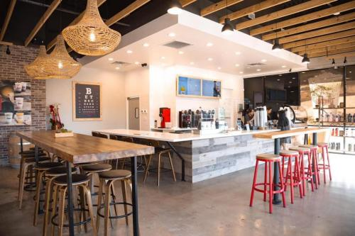 High Class Furniture Work for 7leavescafe Houston, Texas